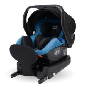 AXKID Babyschale Modukid Infant i-Size Petrol mit Basisstation Modukid