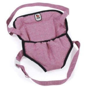 BAYER CHIC 2000 Puppen-Tragegurt Jeans pink