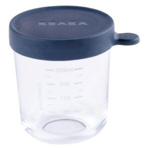 BEABA Aufbewahrungsbehälter 250 ml blau
