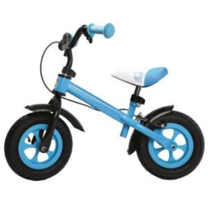 Bino Metall-Laufrad, blau