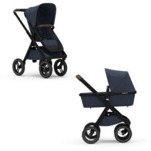 DUBATTI Kinderwagen Black/Dark Brown/Navy