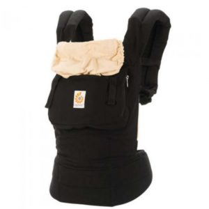 Ergobaby Komforttrage Original Collection Black/Camel