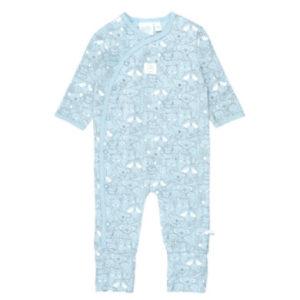 Feetje Schlafanzug mit Klappfuß We Are Family blau