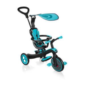 Globber Explorer Trike 4 in 1, hellblau