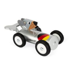 Janod® Spirit - Rennwagen Hans, silber