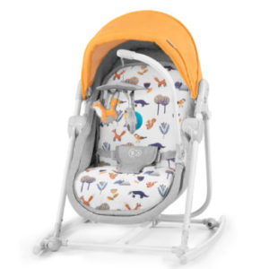 Kinderkraft 5-in-1 Babywiege Unimo 2020 Forest Yellow