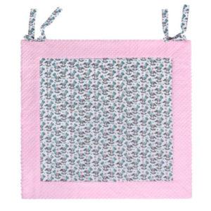 LULANDO Krabbeldecke Play-Mat rosa Schaukelpferd 150 x 150 cm