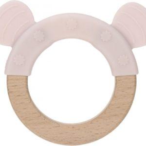 Lässig Holz-Greifling mit Silikon Little Chums Mouse