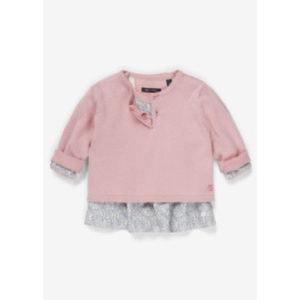 Marc O'Polo Girls Kleid mit Pullover zephyr - rosa/pink - Gr.Babymode (6 - 24 Monate) - Mädchen