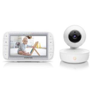 Motorola Video-Babyphone MBP55 mit 5,0 Farbdisplay LCD
