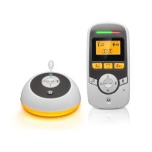 Motorola digital Audio Babyphone MBP161 mit 1,5 LCD - weiß