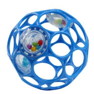 Oball™ Rassel blau, 10 cm