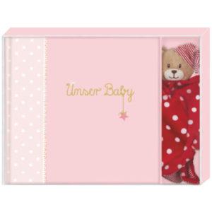 SPIEGELBURG COPPENRATH Geschenkset BabyGlück - Unser Baby rosa