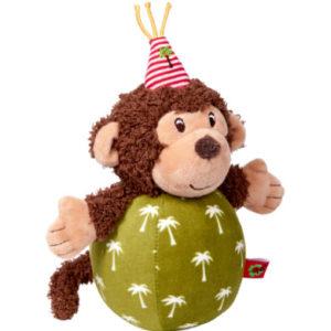 SPIEGELBURG COPPENRATH Steh-auf-Affe mit Glockenspiel - BabyGlück