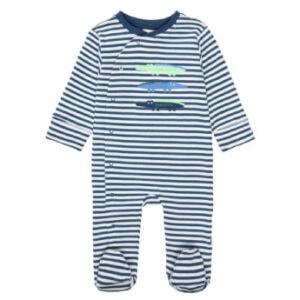 STACCATO Pyjama 1tlg. dark tinte gestreift