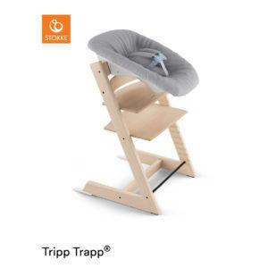 STOKKE® Tripp Trapp® Hochstuhl inkl. Newborn Set™ Buche natur