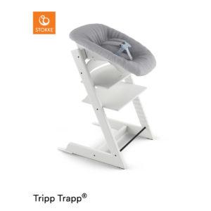 STOKKE® Tripp Trapp® Hochstuhl inkl. Newborn Set™ Buche weiß