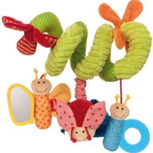 Sigikid 42249 Aktiv-Spirale Schmetterling Baby Activity