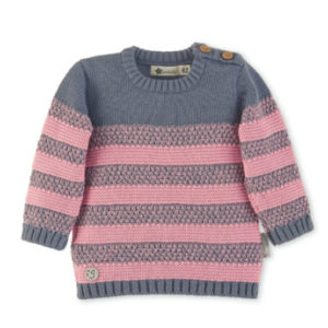 Sterntaler Girls Strick-Pullover rosa