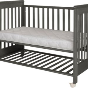 Treppy 1135 Beistellbett Dreamy Plus2 Woody Gray 120x60cm