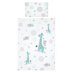 bebe-jou® design Bettwäsche Hello little one mint 100x135cm
