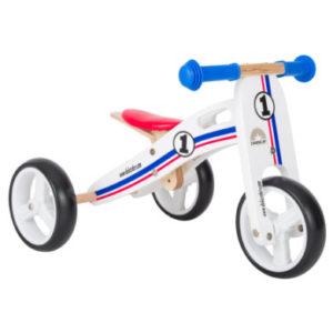 bikestar 2-in-1 Mini Kinderlaufrad 7, weiß
