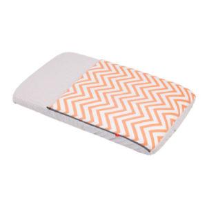 cambrass Schlafsack mit integrierter Matratze 49,5 x 83,5 cm be Zigzag orange