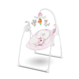 lionelo Babywippe Robin Pink