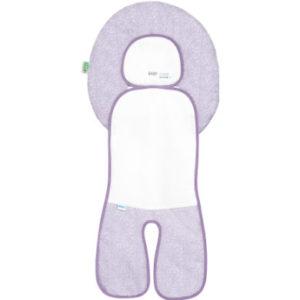 odenwälder Babycool-Auflage für Autositz, New Woven violett