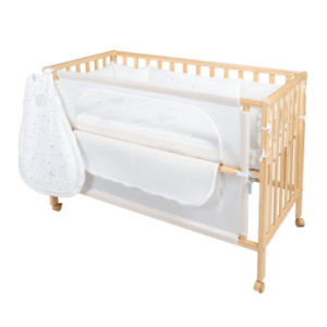 roba Room Bed safe asleep® Sternenzauber natur