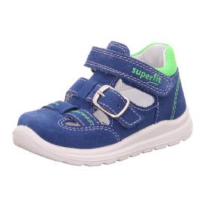 superfit Sandale Mel blau/hellgrün (mittel)